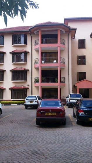 S341:Master ensuite three bedroom apartment for sale,Kilimani.