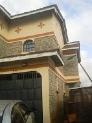 S354:Beautiful double storey maisonette, 4 bedroom master en-suite  at eastern bypass Ruiru